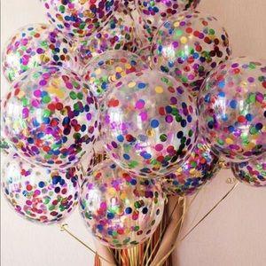 10pcs Confetti Balloon Set